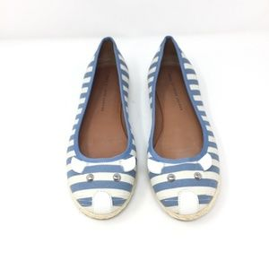 Marc by Marc Jacobs Striped Mouse Espadrille Flat